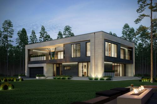 Типовой проект дома 5-281