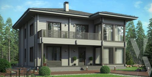 Типовой проект жилого дома 5-291