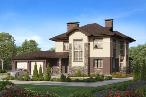 Типовой проект дома 5-312