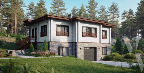 Типовой проект жилого дома 5-387