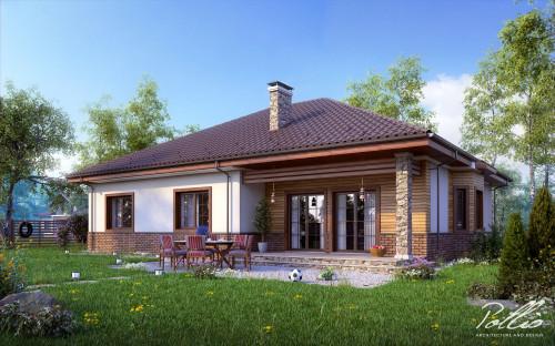 Типовой проект жилого дома x1