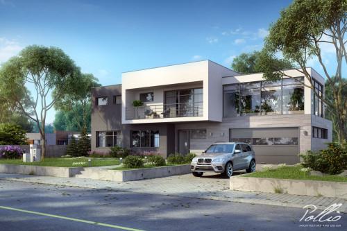 Типовой проект жилого дома x10