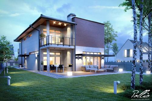 Типовой проект жилого дома x11