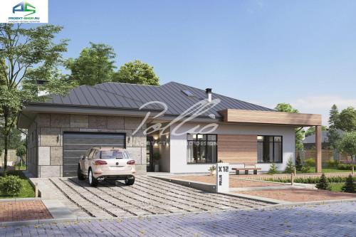 Типовой проект жилого дома X12b