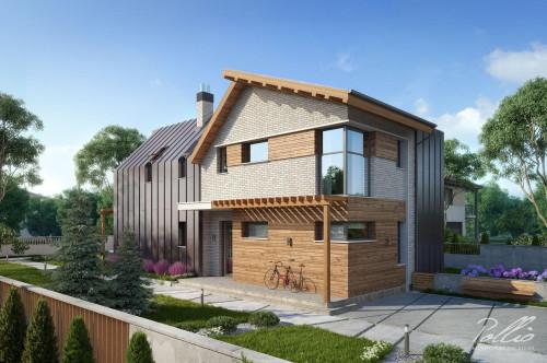 Типовой проект жилого дома x13