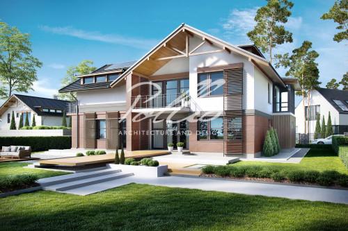 Типовой проект жилого дома x14
