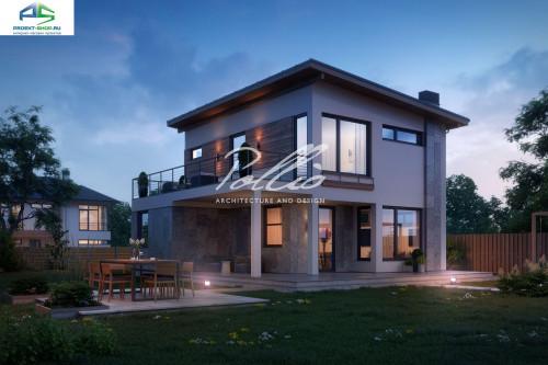 Типовой проект жилого дома X19 A