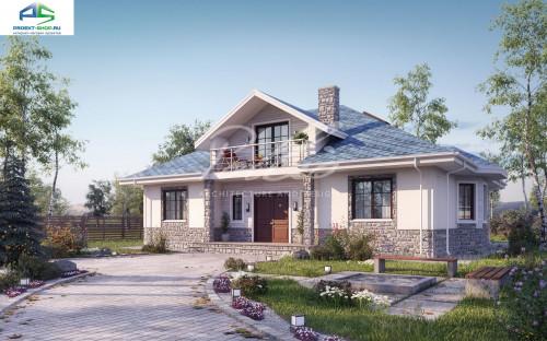 Типовой проект жилого дома X1b