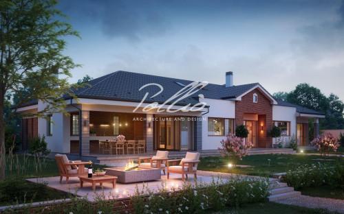 Типовой проект жилого дома x20
