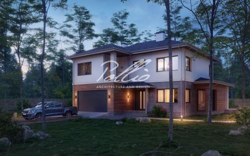 Типовой проект жилого дома x21