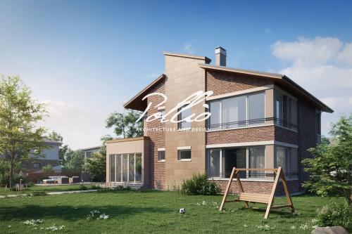 Типовой проект жилого дома x22
