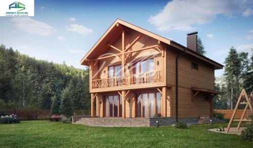 Типовой проект жилого дома X24