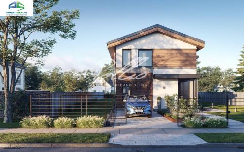 Типовой проект жилого дома X25