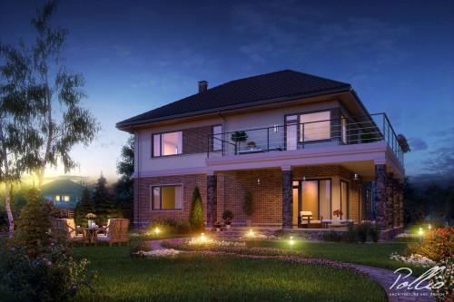 Типовой проект жилого дома x3