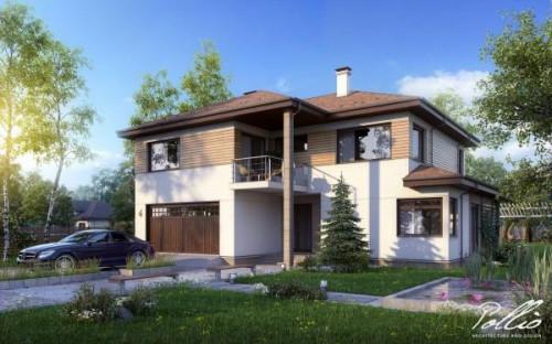 Типовой проект жилого дома x4