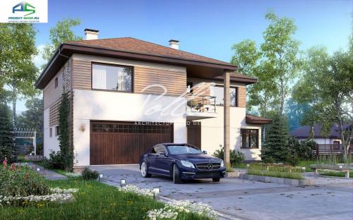 Типовой проект жилого дома X4a