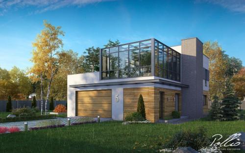 Типовой проект жилого дома x5
