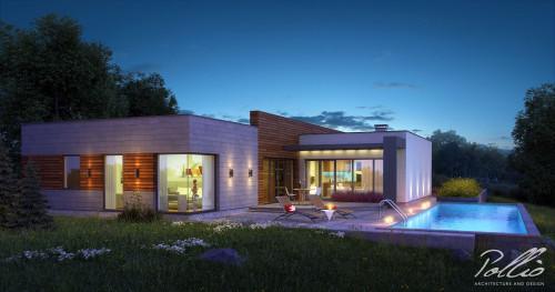 Типовой проект жилого дома x6