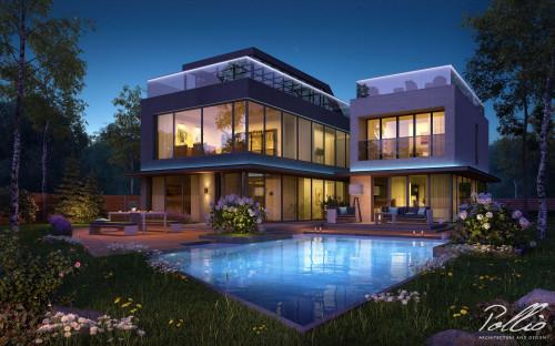 Типовой проект жилого дома x8