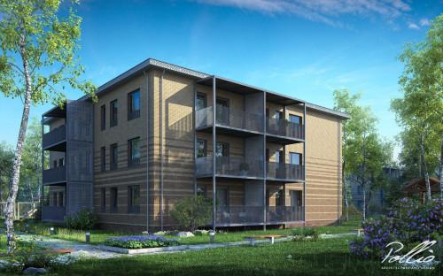 Типовой проект жилого дома Xb1