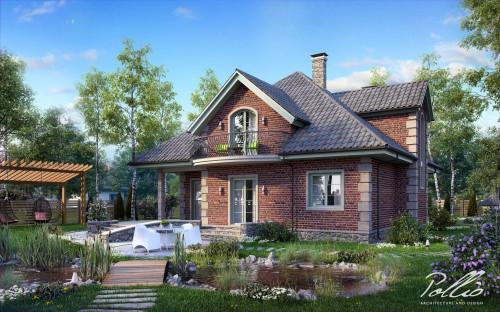 Типовой проект жилого дома x2