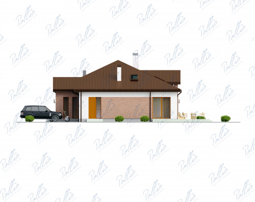 Типовой проект жилого дома x20a
