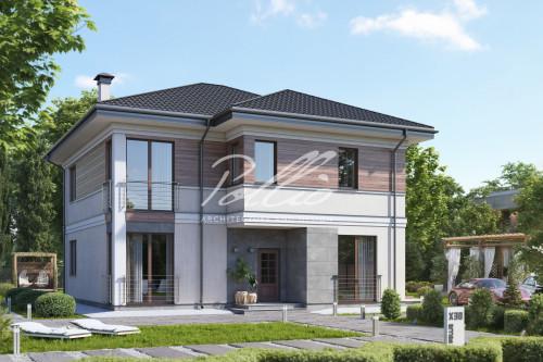 Типовой проект жилого дома X30