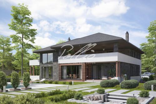 Типовой проект жилого дома X31