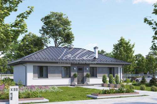 Типовой проект жилого дома X33