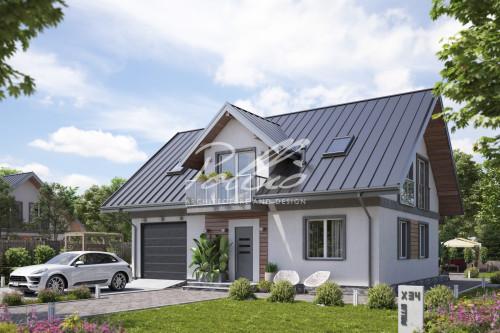 Типовой проект жилого дома X34