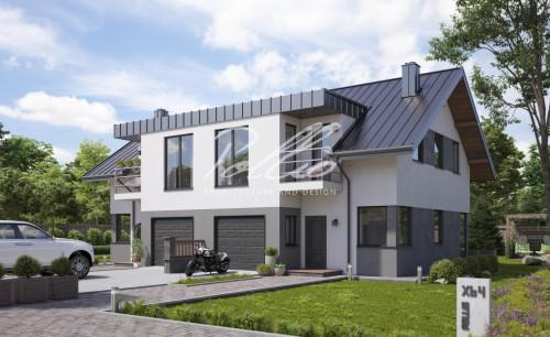 Типовой проект жилого дома xb4