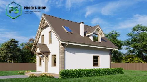 Типовой проект жилого дома Z1