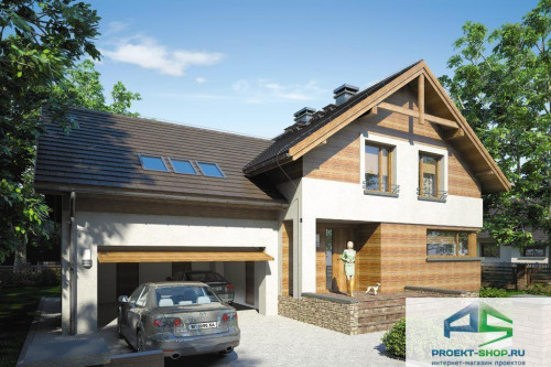 Проект жилого дома D1