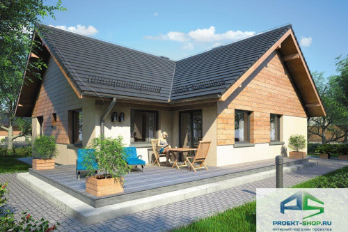 Проект жилого дома D23