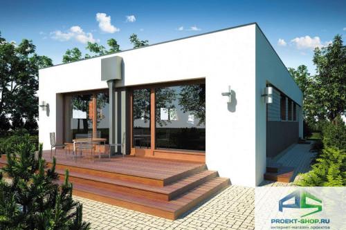 Проект жилого дома D38