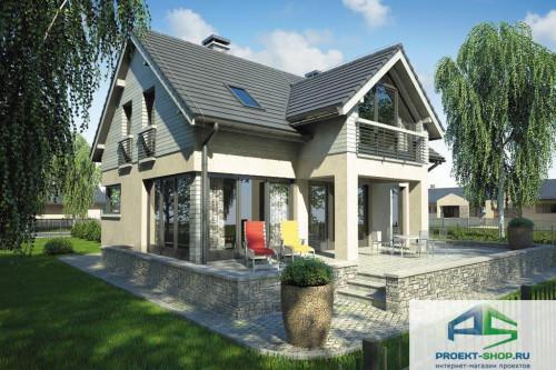 Проект жилого дома D40