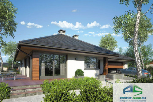 Проект жилого дома D41