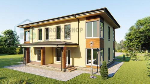 Проект жилого дома D52