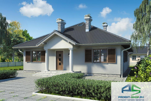 Проект жилого дома D7