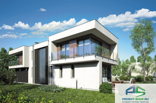 Проект жилого дома D8
