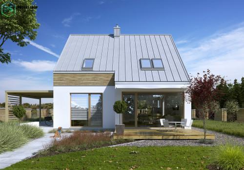 Типовой проект жилого дома 3-03