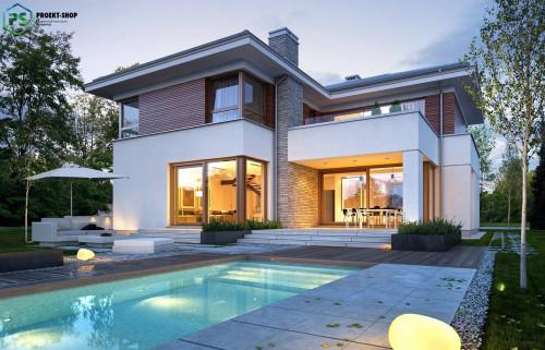 Типовой проект жилого дома 3-104
