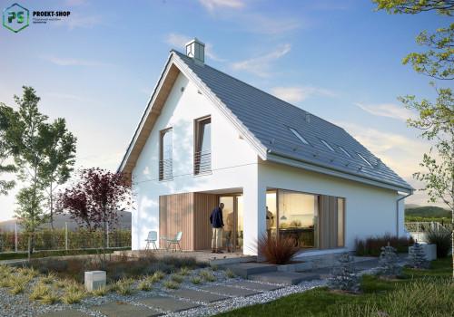 Типовой проект жилого дома 3-21