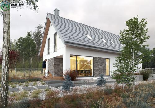 Типовой проект жилого дома 3-22