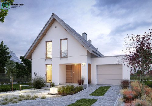 Типовой проект жилого дома 3-23
