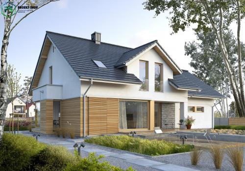 Типовой проект жилого дома 3-24