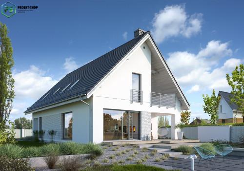 Типовой проект жилого дома 3-35