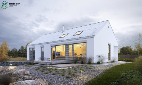 Типовой проект жилого дома 3-45