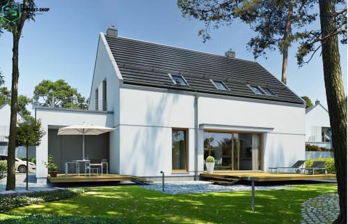 Типовой проект жилого дома 3-50