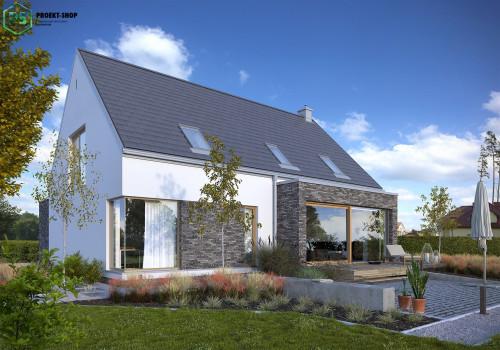 Типовой проект жилого дома 3-73
